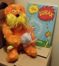 "LORAX Plush w/ Truffula Tree! 16"" - 1983 - Dr. Seuss - EXTREMELY RARE! - Coleco"