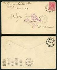 Bahamas 1925 1d on Unclaimed cover to Miami