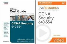 CCNA Security 640-554 Official Cert Guide by Morris &  Barker 2012 ROM HB 160523