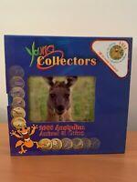 CB1491) Australia 2008 Perth Mint Young Collectors set of 12 Bronze UNC $1 coins