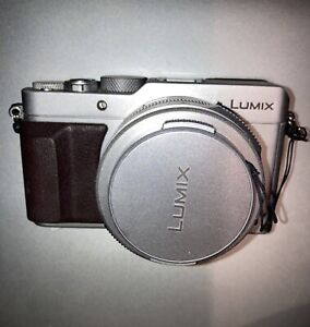 Panasonic LUMIX DMC-LX100   Silver and Brown