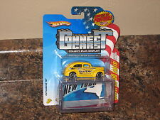 Hot Wheels Connect Cars New York Fat Fendered '40 Ford #11 VHTF Yellow Coupe