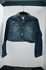 Limited Too Girls Shimmer Jean Jacket Size: 14 New With Tags
