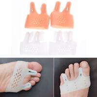 silicone gel foot corrector toe separator thumb valgus protector feet care pn