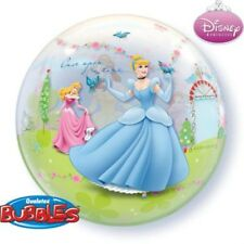 "Disney Princess Balloons - 22"" Bubble Balloon - Birthday Party Decorations"