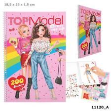 Top Model Dress Me Up 'Cherry Bomb' Fun Sticker Colouring & Sticker Book 11120