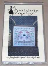 "Heartstring Samplery ""Great Grandma Dagmar's Birth Sampler"" Cross Stitch Pattern"