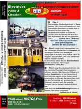 Trams damals in Porto & Lissabon  UND  Eisenbahnen 1982 in Portugal  * Zeitreise