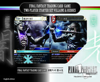 FINAL FANTASY Trading Card Game Two-Player Starter Set Villains & Heroes English