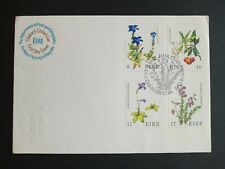 Ireland Stamps 1978 FDC 1st. Flora & Fauna.(flowers)