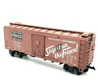 "HO Scale ""Ship It On The Frisco"" SL-SF 147053 40' Freight Train Box Car"