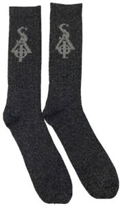 Sia Collective - FBCC - Black Reflective Socks - Reflective SIA Logo
