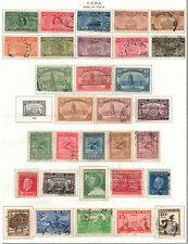SPANISH WEST INDIES Scott 284//355 C3 Album Page ## 1 cent start ##