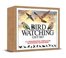 BIRD WATCHING SET BRITISH GARDEN BIRDS DVD BOOK NOTEBOOK PEN IDEAL GIFT SPOTTERS