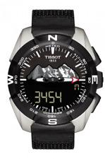 Tissot T-Touch Expert Solar JUNGFRAUBAHN Men's Titanium Watch T091.420.46.051.10