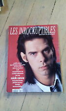 INROCKUPTIBLES N° 22 / AVRIL - MAI 1990 / NICK CAVE / JOY DIVISION / LES VRP