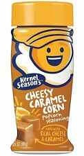 Kernel Seasons Cheesy Caramel Corn Popcorn Seasoning, Real Cheese & Caramel, 2.8
