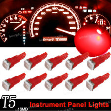 Red T5 74 37 73 2721 5050 1SMD Instrument Speedo Dash LED Light for Mitsubishi