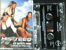 MIS-TEEQ B WITH ME BUMP & FLEX MIX CASSETTE SINGLE  3 TRACK ONE NIGHT STAND