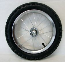 "BICYCLE 12"" FRONT WHEEL+TIRE+TUBE BEACH CRUISER LOWRIDER BMX CYCLING BIKES NEW"
