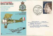 LETTRE AVIATION ROYAL AIR FORCE PHANTOM FGR2 1973