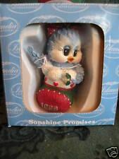 "Sonshine Promises 8000 ""BIRD IN STOCKING"" Christmas 1998 Ornament (Retired) NIB"