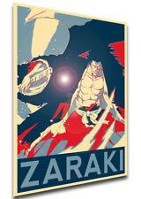 Poster Propaganda - Bleach - Kenpachi Zaraki - Variant 01 LL0401