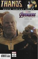 Thanos Comic 1 Cover E Incentive Movie Cover Variant First Print 2019 Marvel
