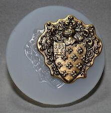 Royal Shield Knight SILICONE MOULD - resin, clay, fimo, sugarcraft MOLD ornament