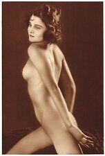 1920s Vintage Czech Female Nude Frantisek Drtikol Art Deco Photo Gravure Print