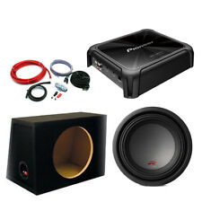 "Alpine Type R 10"" Subwoofer + Pioneer GMD Bass Package Deal 2250 Watts"