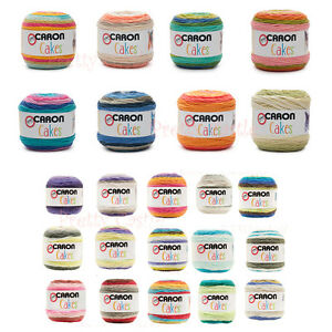 *NEW * 28 COLORS Caron Cakes Gradient Medium Worsted Yarn Acrylic/ Wool HAT