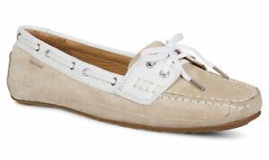 Sebago Bala Women's Deck Boat Shoe Beige Taupe 70003S0 NEW