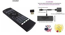 MX3 2.4G Air Mouse Wireless Remote Control backlit &  OTG Adapter for Firestick