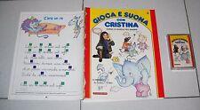 GIOCA E SUONA CON CRISTINA D'AVENA 3 Fascicolo + musicassetta De Agostini 1988