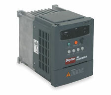 AC Inverter / Adjustable Frequency Drive, 1/4 HP, 0.2 kW, 3 PH, 230V