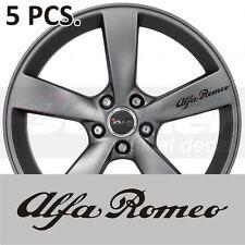 Alfa Romeo Stickers decals for Wheel 145 146 147 155 156 159 164 166 33 4c 75 90