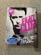 Fight Club Blu-Ray David Fincher Brand New With Slip Cover Brad Pitt Ed Norton