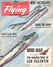 RAF FLYING REVIEW JUNE 55 FACSIMILE: N.A.SABRE/ FOKKER S-14 CUTAWAY/LEO VALENTIN