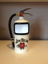 JIM BEAM Fire Extinguisher ASH TRAY or BOTTLE TOP CONTAINER with Bottle Opener