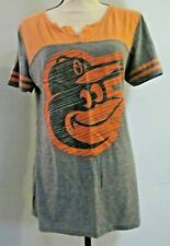 5th & Ocean by New Era Womens Size L Baltimore Orioles T-Shirt