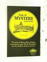 Lady Of Mystery Sarah Winchester House Souvenir Booklet Vintage 1967 Travel