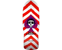 Powell Peralta Steve Steadham Spade Red White Old School Reissue Skateboard Deck