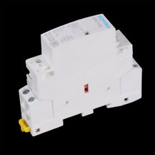 2P 20A 220V/230V 50/60HZ Din rail Household ac contactor