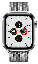 Apple Watch Series 5 44 mm Case with MilaneseLoop - Stainless Steel (GPS + Cellular) (MWWG2X/A)