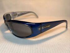 Arnette Catfish Vintage Sunglasses 09/6 Blue Frame /Black Mirror lenses AN 222