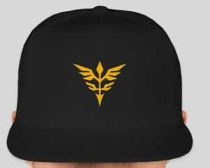 US Seller Fast Shipping Gundam Neo Zeon Embroidered Baseball Cap Hat One Size