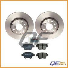 Rear Brake Kit w/ Brembo Rotors and Bosch Pads For: Volkswagen GTI 10-14 L4 2.0L