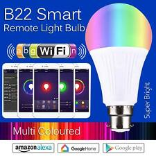 Smart Bulb B22 Wireless WiFi App Remote Control Light for Google Home Alexa