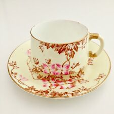 EJD Bodley teacup with Japanese blossoms, ca 1885 Japonism style